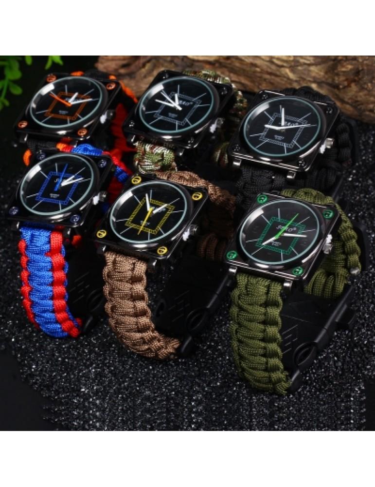 Survival Bracelet Watch