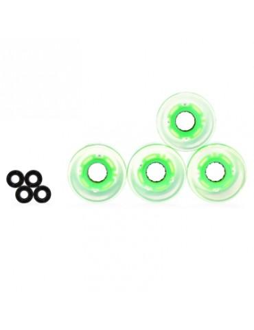4pcs LED Skateboard Wheels
