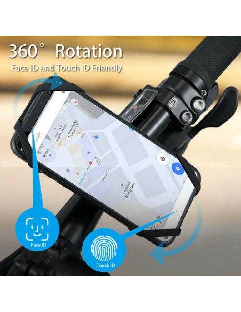 Fahrrad Handy Halterung Smartphone Halter universal Motorrad Kinderwagen Bike