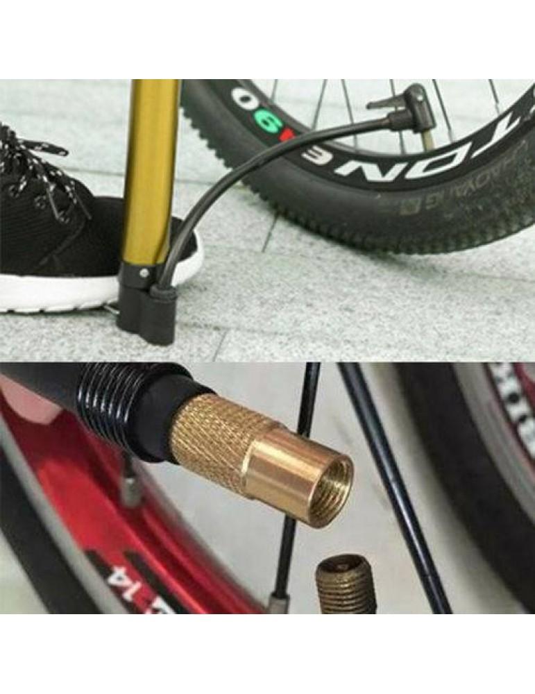 16x Fahrrad Ventil-Adapter Französisches auf Autoventil KFZ Pumpe