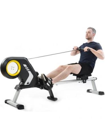 Magnetic Resistance Rowing Machine+Foldable Design 8Level Adjustable Resistance