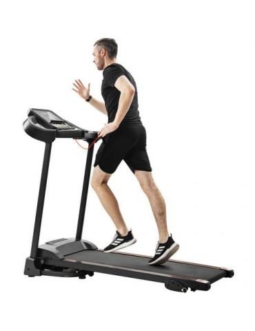 Compact Easy Folding Treadmill Motorized Running Jogging Machine+Audio Speakers